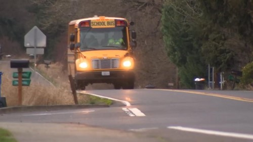 KPTV Image of School bus