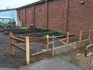 HHES fence project