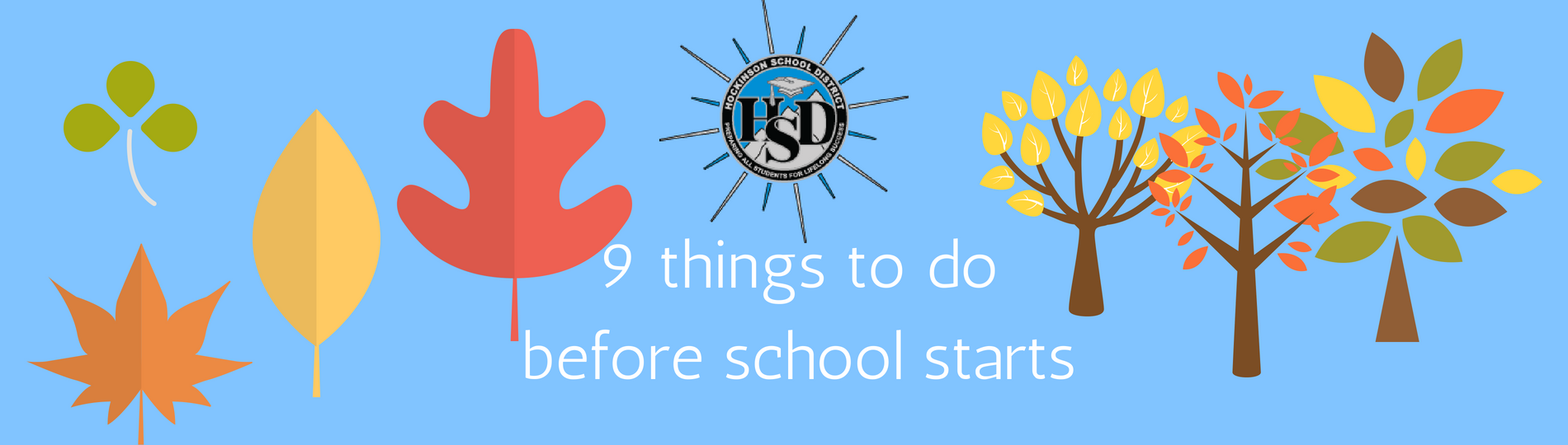 9 things to do before school starts
