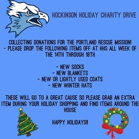 hhs winter clothing drive